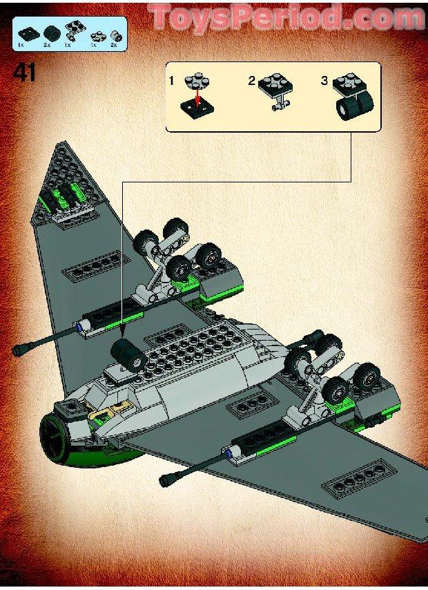 lego u wing instructions