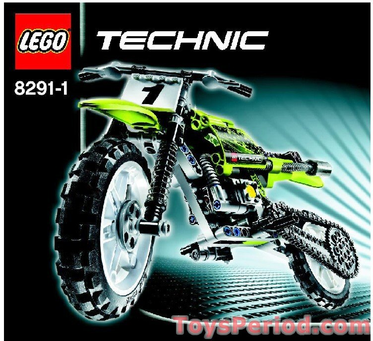 LEGO 8291 Dirt Bike Set Parts Inventory and Instructions - LEGO ...