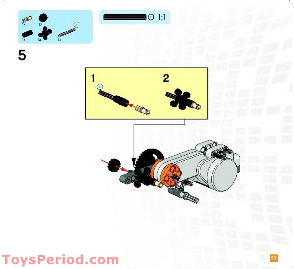 Lego Mindstorms Education Nxt Base Set Building Instructions