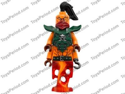 Lego Ninjago x2 Figuren Sqiffy 70594