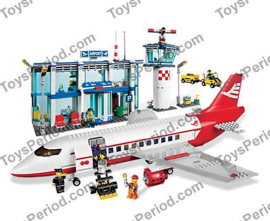 Lego 3182 Airport Set Parts Inventory And Instructions Lego