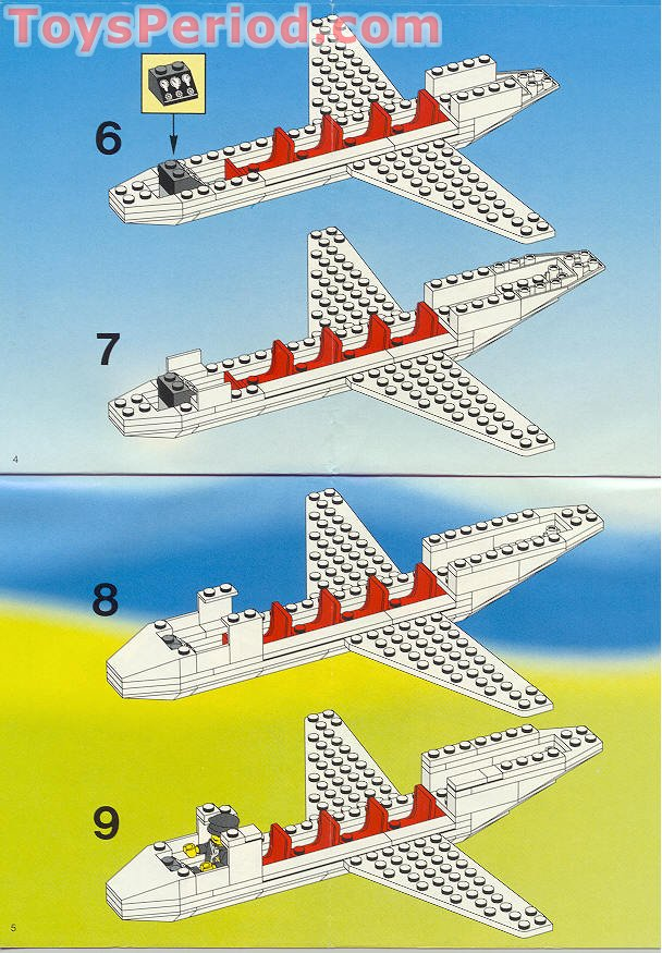 Lego 1973 Emirates Airline Promotional Set Airliner Set
