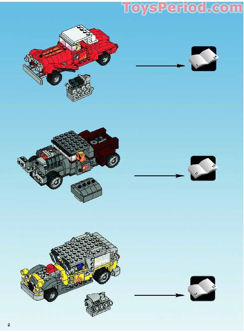 Lego 10200 custom car garage set parts inventory and for Garage n4 auto duppigheim
