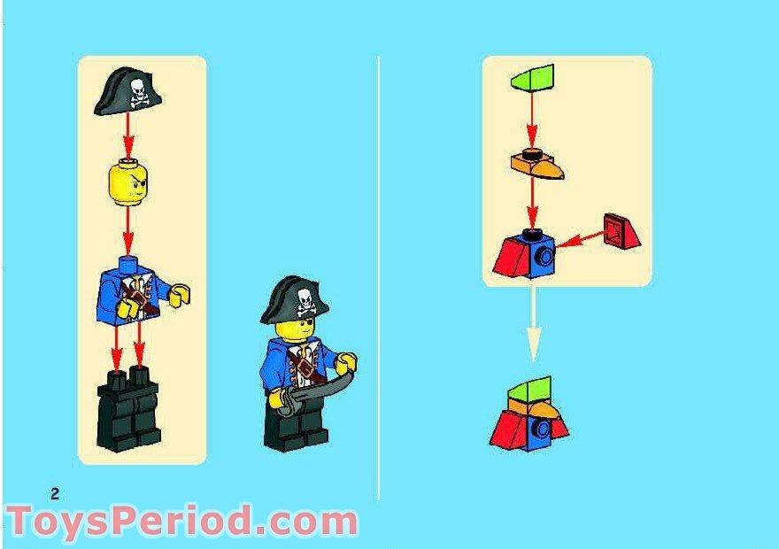 lego gift box instructions