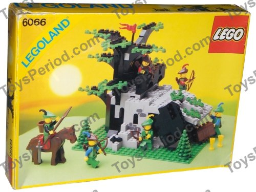 LEGO 6066 Camouflaged Outpost Set Parts Inventory and Instructions ...