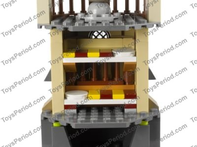 LEGO HARRY POTTER,COMPLETE TOWER #2 ONLY SET 4867 NO INSTRUCTIONS MINIFIGURES