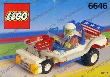 Old Lego Race Car Set
