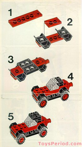 Jeep Roadside Assistance >> LEGO 642-1 Tow Truck and Car Set Parts Inventory and ...