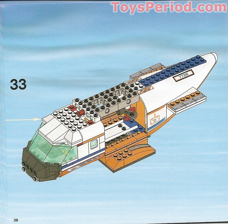 Lego 7738 Coast Guard Helicopter And Life Raft Set Parts Inventory