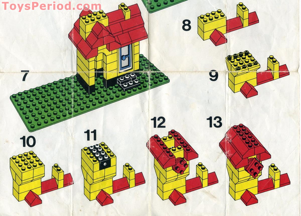 Lego 00 4 Weetabix Promotional Windmill Set Parts Inventory And
