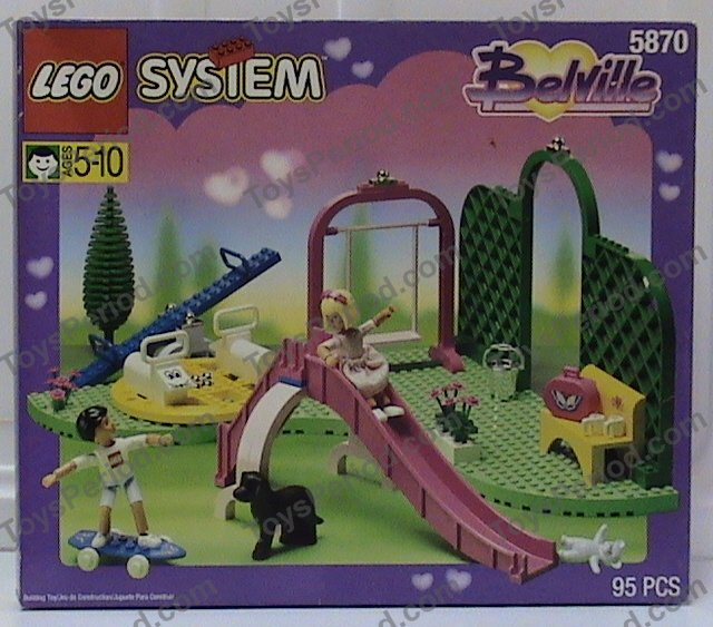 Lego belville staircase paradisia dkpink polybag staircase 4784//set for 5870.