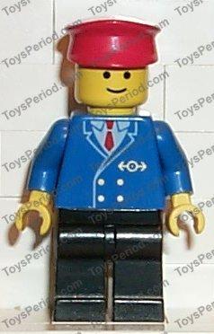 LEGO\u00ae railroad staff minifigure