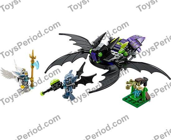 LEGO Chima 70128 Braptors Wing Striker 146 PCS