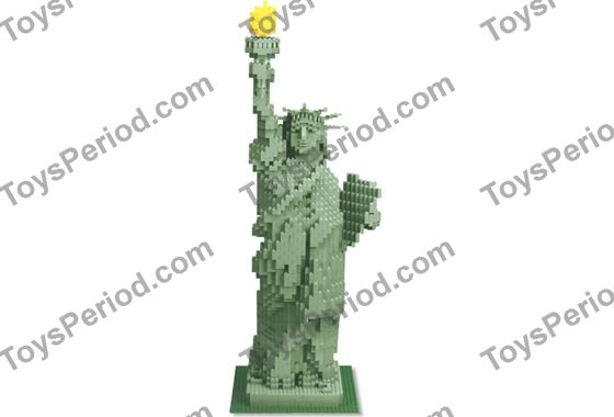 Lego 3450 Statue Of Liberty Sculpture Set Parts Inventory And