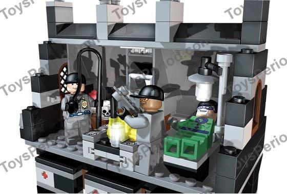 Lego 7785 Arkham Asylum Set Parts Inventory And Instructions Lego