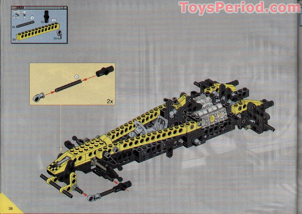 lego indy car instructions