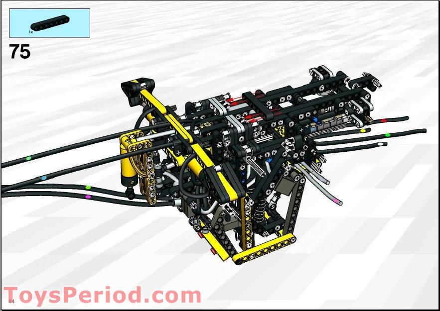 lego backhoe loader instructions