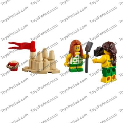 Accessories NEW LOT OF 12 3836 LEGO Reddish Brown Minifig Tool Pushbroom