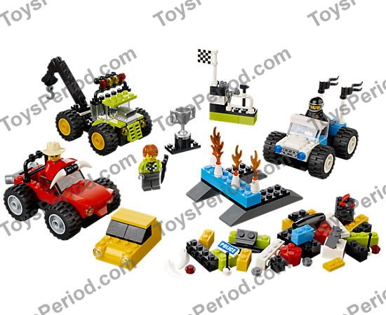 Lego 10655 Lego Monster Trucks Set Parts Inventory And Instructions