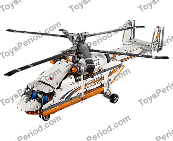Lego 42052 Heavy Lift Helicopter Set Parts Inventory And Instructions Lego Reference Guide