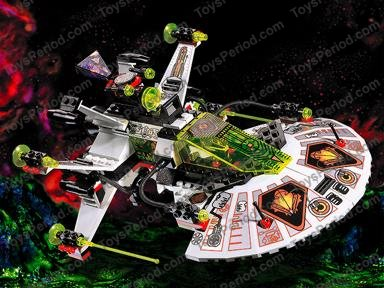 Lego 6915 Warp Wing Fighter Set Parts Inventory And