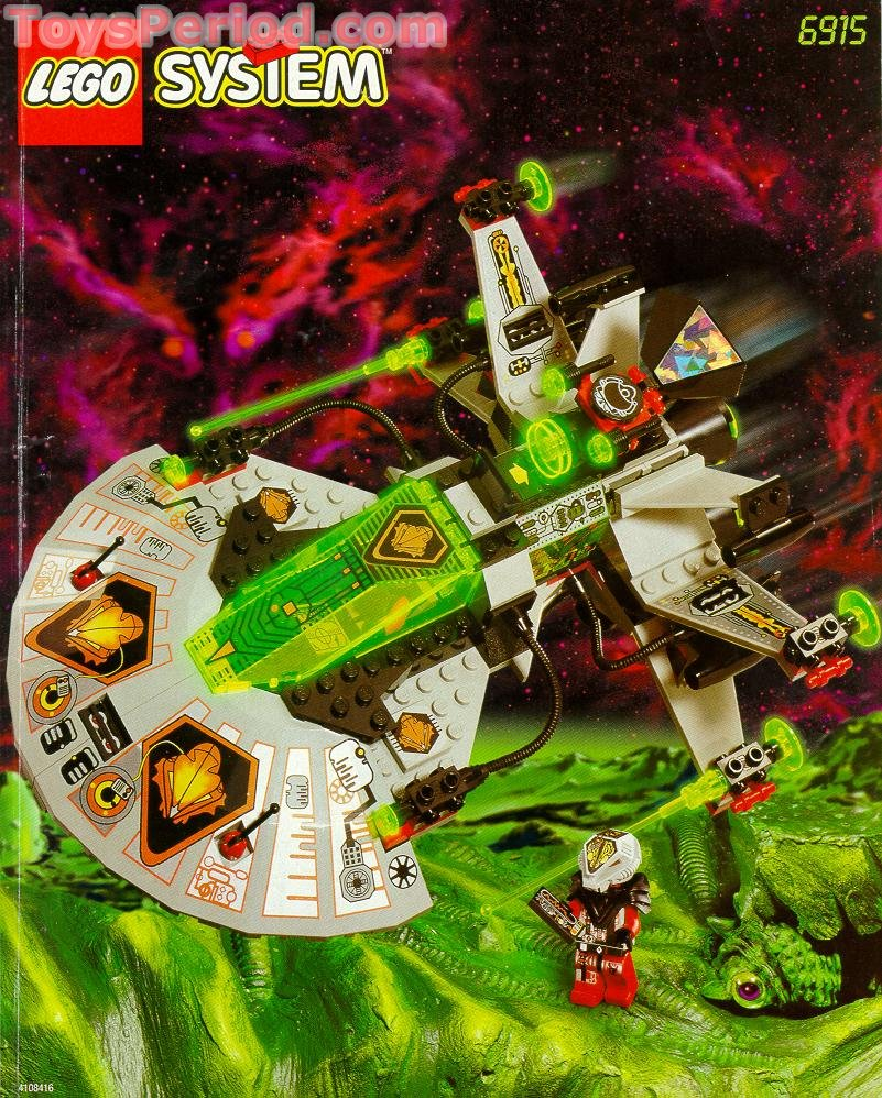 Lego 6915 warp wing fighter set parts inventory and instructions.