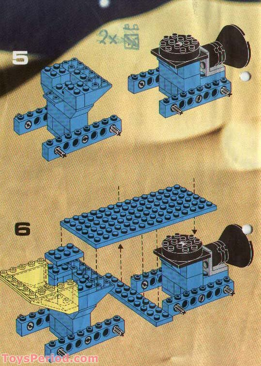 Lego 6950 Mobile Rocket Transport Set Parts Inventory And