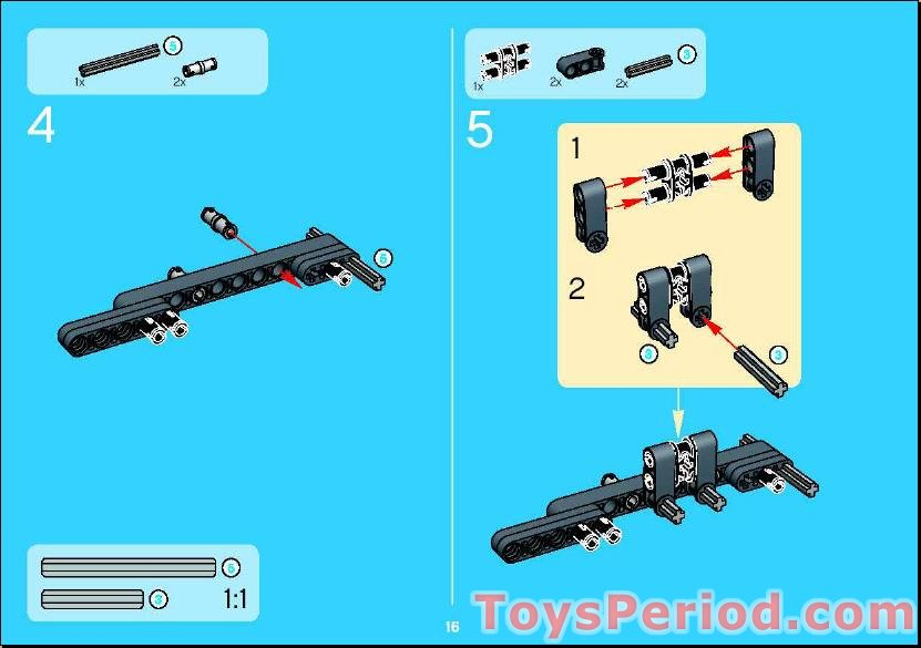 Lego 8433 Cool Movers Set Parts Inventory And Instructions