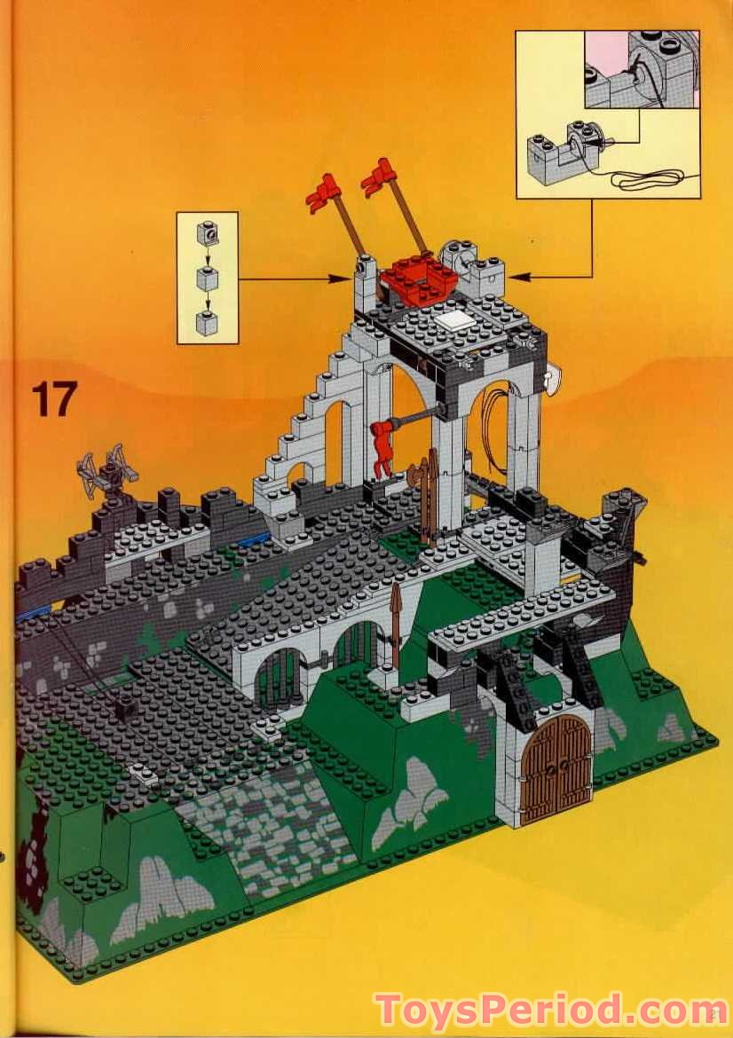 lego castle set instructions