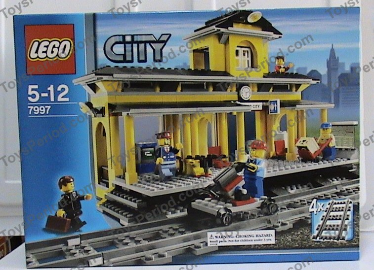 Lego 7997 Train Station Set Parts Inventory And Instructions Lego