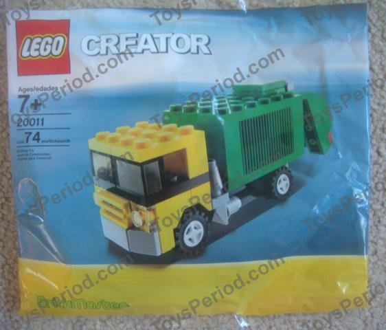 lego garbage truck instructions