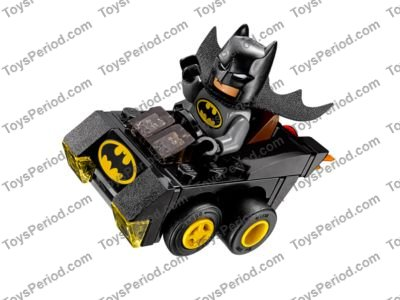 Lego 76061 Mighty Micros Batman Vs Catwoman Set Parts Inventory