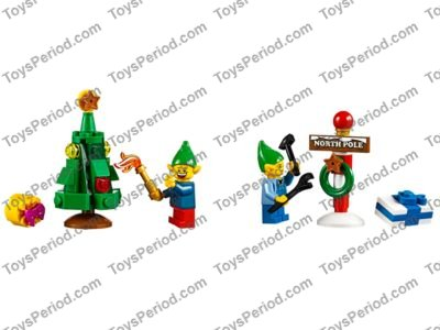 LEGO 10245 Santa's Workshop Set Parts Inventory and Instructions ...