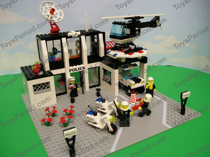 LEGO 6386 Police Command Base Large Vintage Town 1986 ...