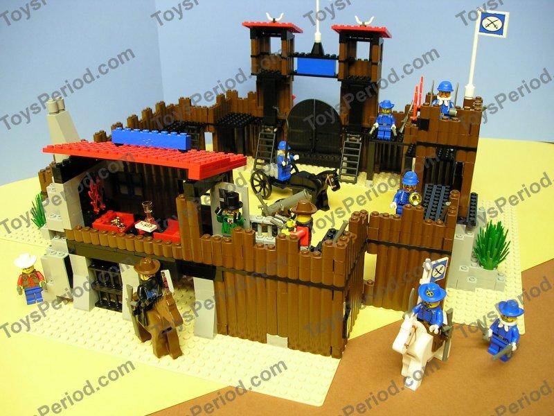 LEGO 6769 6762 Fort Legoredo Western Cowboy Wild West Set ... |Lego Wild West Fort