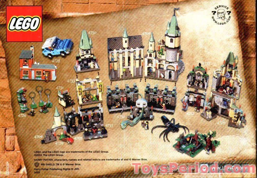 Lego 4719 Quality Quidditch Supplies Set Parts Inventory And