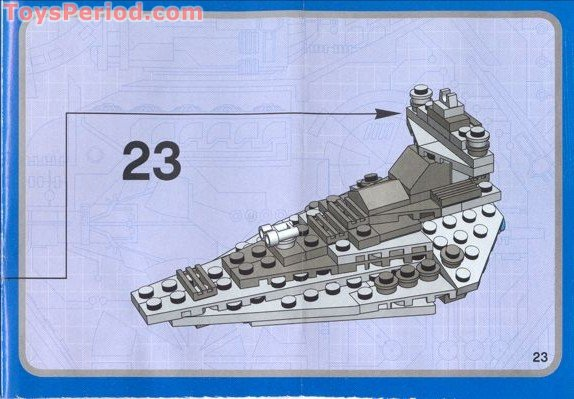 Lego 4492 Mini Imperial Star Destroyer Set Parts Inventory And