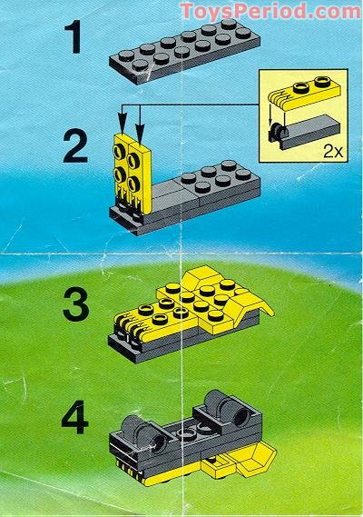 lego 6507 mini dumper set parts inventory and instructions lego reference guide. Black Bedroom Furniture Sets. Home Design Ideas