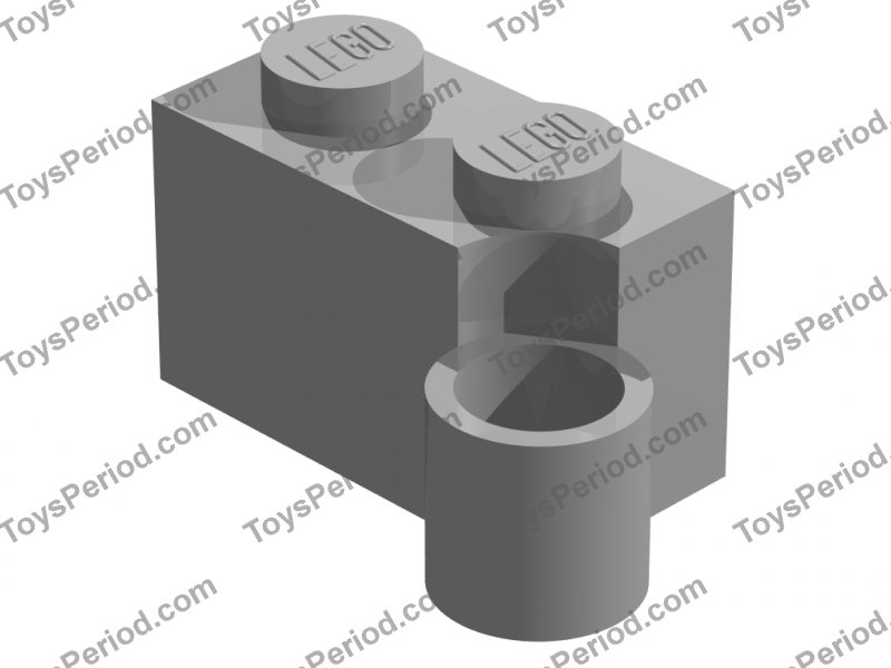 LEGO® Reddish Brown Hinge Brick 1 x 4 Swivel Top Design ID 3830