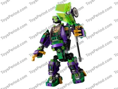 Lego 76097 Lex Luthor Mech Takedown Set Parts Inventory And