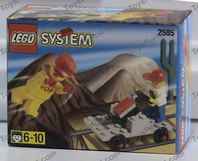 Lego 2585 Handcar Promotional Set From Lego Loco
