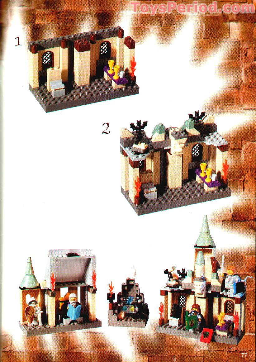 lego harry potter castle instructions