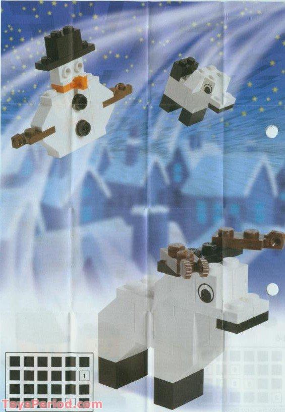 lego 4024 1 advent calendar 2003 creator set parts. Black Bedroom Furniture Sets. Home Design Ideas