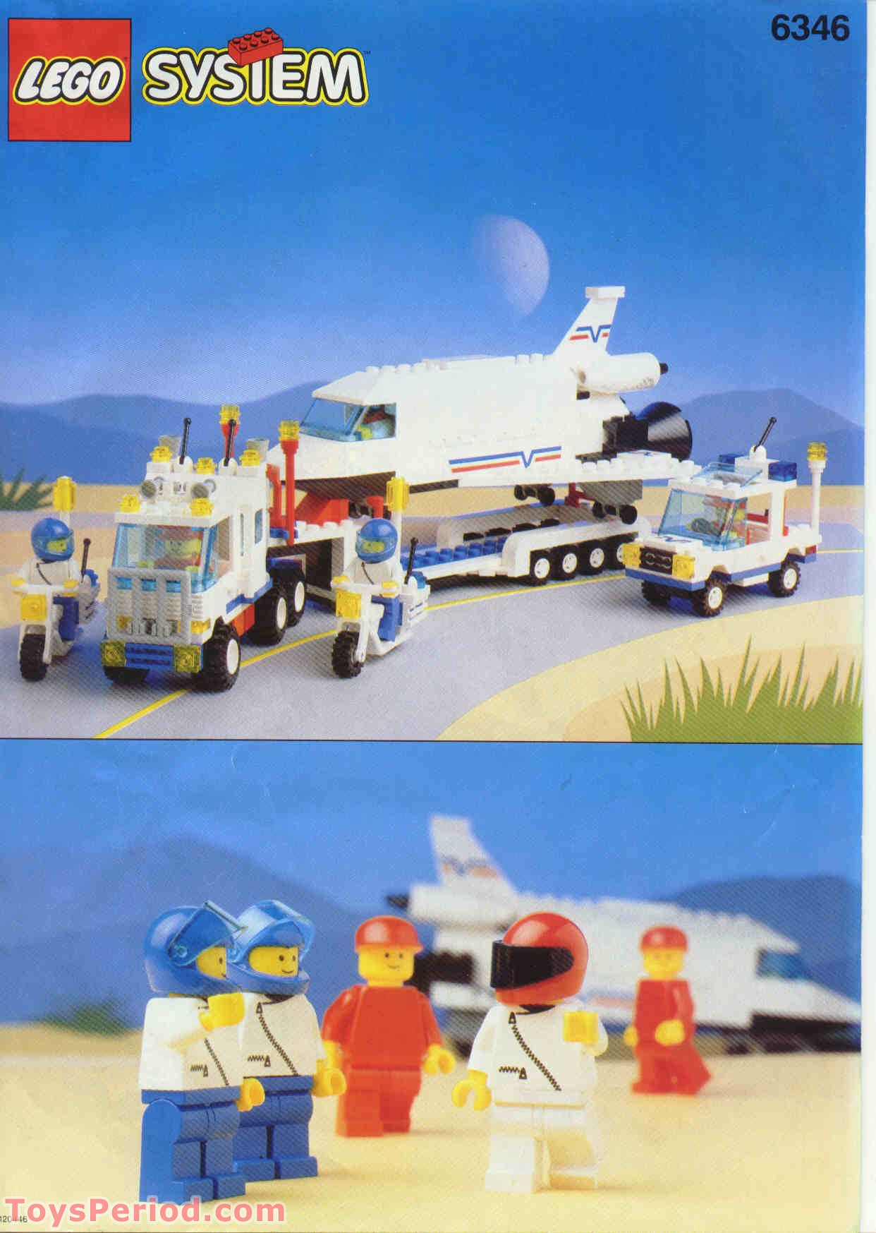 lego space shuttle transport instructions - photo #36