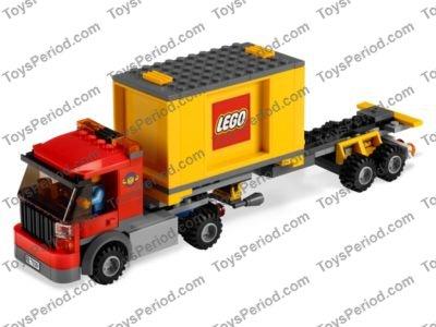 Lego 7939 Cargo Train Set Parts Inventory And Instructions Lego