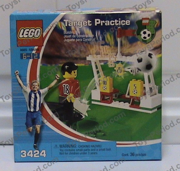 Target Toy Guide : Lego target practice set parts inventory and
