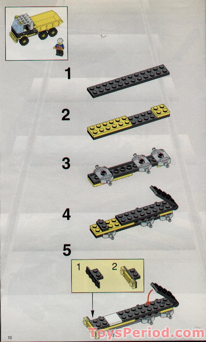 Lego 2126 Train Cars Set Parts Inventory And Instructions