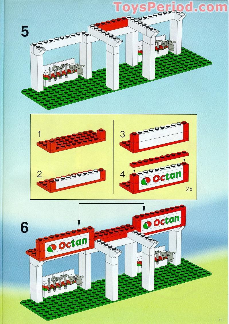 set 232 4554 6426 6337 Mur jaune LEGO TRAIN Yellow brick 3754