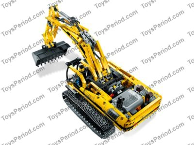 Lego 8043 Motorized Excavator Set Parts Inventory And Instructions