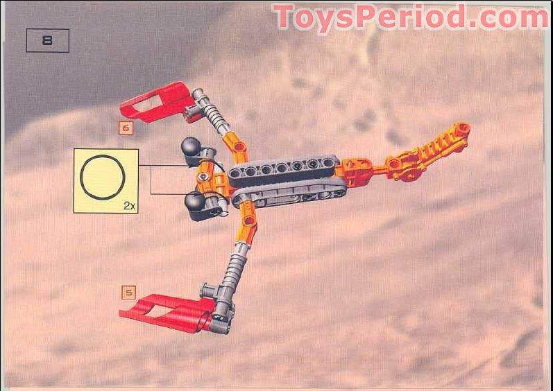 Lego 10023 Bionicle Master Builder Set Set Parts Inventory